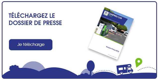 Téléchargez le Dossier de Presse CAMPING-CAR PARK